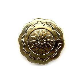 Wholesale Decorative Button With Scalloped Edge