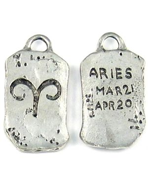 Wholesale Pewter Aries Zodiac Pendants