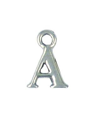 Wholesale Alphabet Letter A Pendant Charm