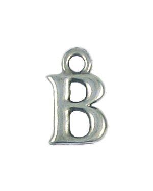 Wholesale Alphabet Letter B Pendant Charm