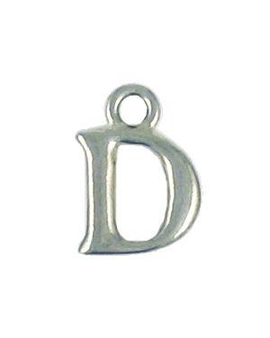 Wholesale Alphabet Letter D Pendant Charm
