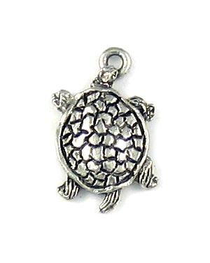 Turtle Pendant (±12x21x3mm; -1mm-;1D)