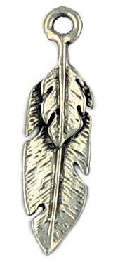 Wholesale Double Feather Pendants.