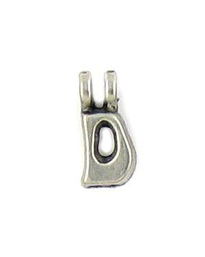Wholesale Alphabet Letter D Charm