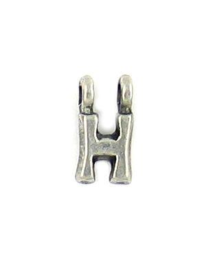 Wholesale Alphabet Letter H Charm