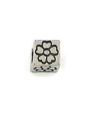 Flower Cube Bead