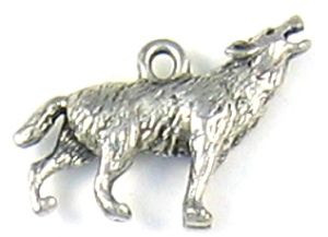 Wholesale Wolf Charms.