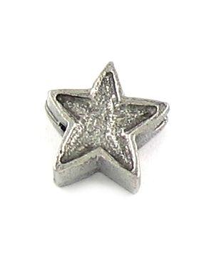 Star Bead (±12x12x6mm; -2mm-;3D)