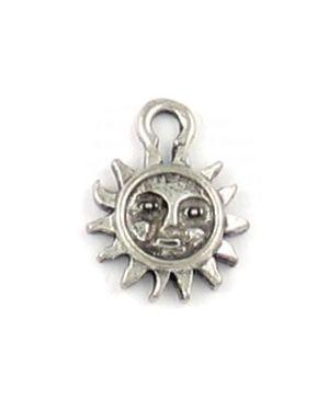 Small Sun Pendant (±10.5x14x1.5mm; -1.5mm-;1D)