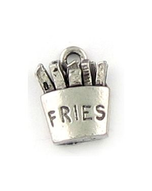 Wholesale French Fries Charms.