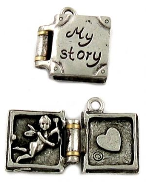 Wholesale My Story Love Book Charms.