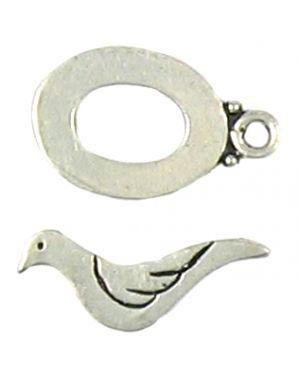 Dove Toggle Small (±23X23x9X15x6mm; -2mm-;2D)