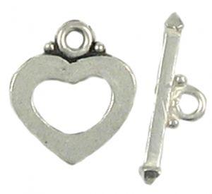 Heart Toggle (±17X23x19X7x2mm; -2mm-;2D)