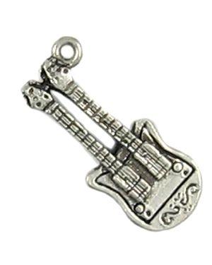 Wholesale Double Neck Guitar Charm.