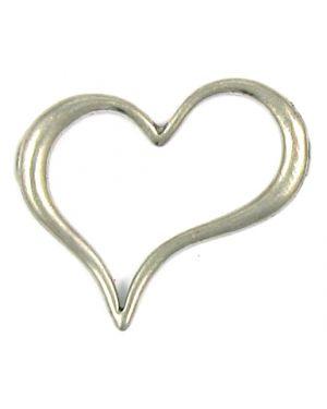 Wholesale Floating Heart Pendants.