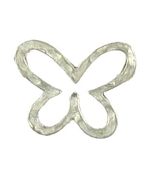 Hammered Butterfly (21x17x1mm; 2D)