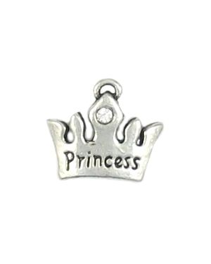 Wholesale Princess Crown With Crystal Charm