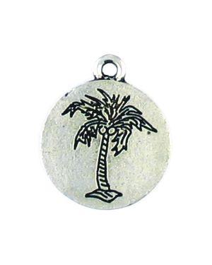 Palm Tree Pendant (±1.5x19x16mm; -2mm-;2D)