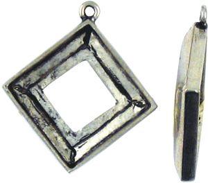 20mm Square - 1 Corner Loop (±35x31x5mm; -1mm-;3D)