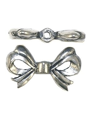 Bow Bead (±12x20x4mm; -1.5mm-;3D)