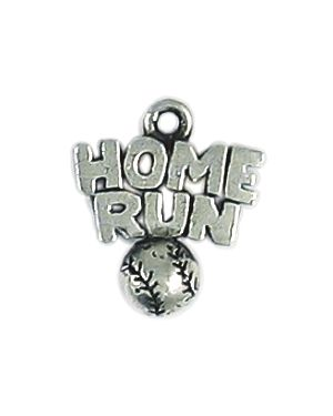 Wholesale Home Run Baseball Charms