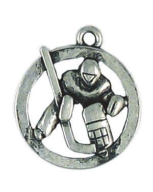 Wholesale Hockey Player Charm