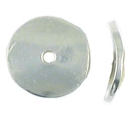 Button Disc With One Hole (±2x14x14mm; -2.5mm-;3D)