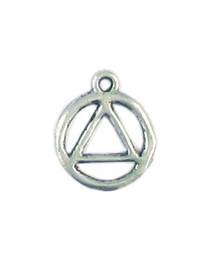 Triangle Unity Recovery Charm Small (±1x15x12mm; -2mm-;2D)