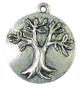 Wholesale Embossed Tree Of Life Charms