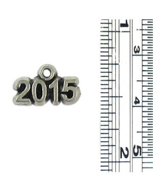 Wholesale Pewter 2015 Year Charms.