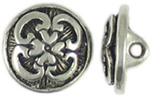 Wholesale decorative pewter button