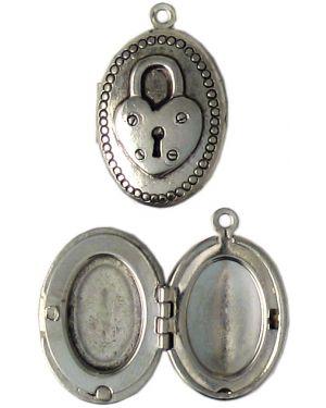 Lock Locket (±8x26x17mm; -1.5mm-;3D)