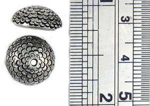 Acorn Bead Cap Fits 12mm Bead (±30x11x3mm; -1.5mm-;3D)  *************