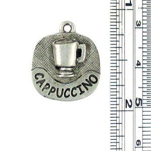 Cappuccino Charm (±4x20x17mm; -2mm-;1D)