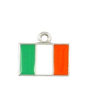 Wholesale Epoxy Enamel Irish Flag Charms