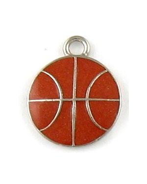 Wholesale Enameled Basketball Pendants