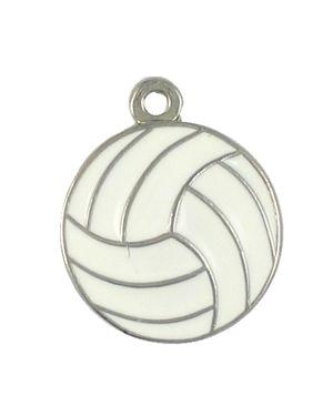 Wholesale Enameled Volleyball Pendants