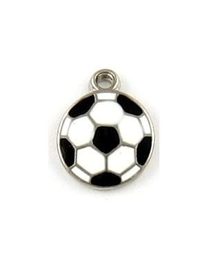 Wholesale Enameled Soccer Ball Charms