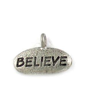 Believe Charm (±18x12x3mm; - 1D)