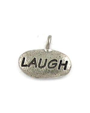 Laugh Charm (±15x13x3mm; - 1D)