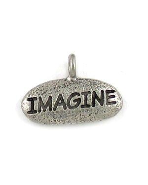 Imagine Charm (±18x12x3mm; - 1D)
