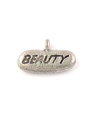 Beauty Charm (±17x10x3mm; - 1D)