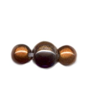 Wholesale Grey Copper and Yellow Japanese Miracle Beads
