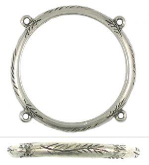 Leaf Ring ( 45x45x3mm; 3D)