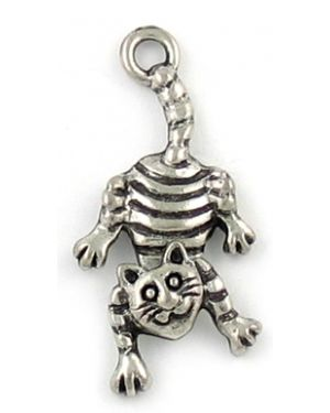 Wholesale Cat Charm With Movable Head.