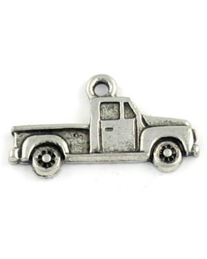 Wholesale Flat Design Pickup Truck Charms