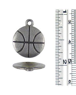 Basketball Charm (±2x19x16mm; -2mm-;1D)