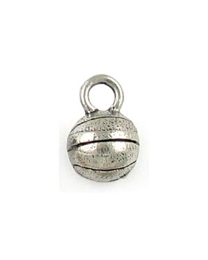 Wholesale Pewter Basketball Charms.