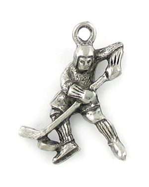 Wholesale Ice Hockey Player Charms