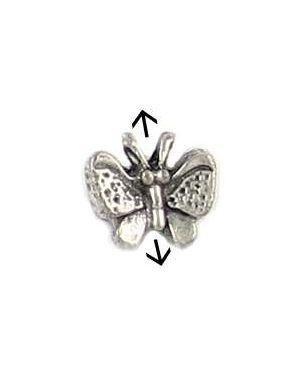Butterfly Bead (±11x10x5mm; -1mm-;3D)